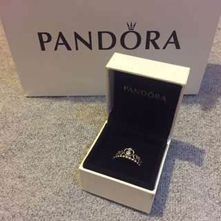 Authentic Pandora Princess ring