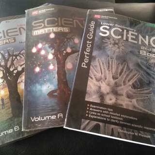 Lower Secondary Science textbook and guide