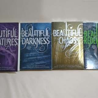 Caster Chronicles series by Kami Garcia and Margaret Stohl