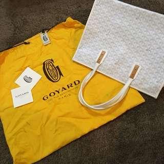 GOYARD White Bag