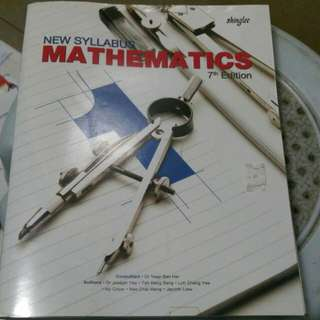 Secondary 1 to secondary 3 maths textbook