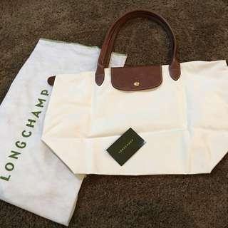 LONGCHAMP White Bag