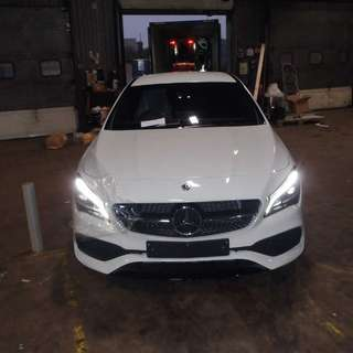 New fresh manufacture Mercedes cla180 amg line night package