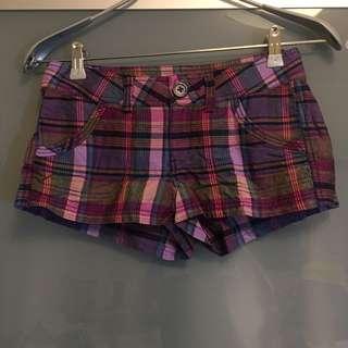 H&M 格子短褲