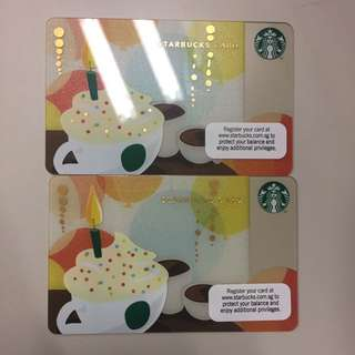 Starbucks card $10 store value