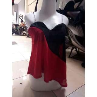 Top black red