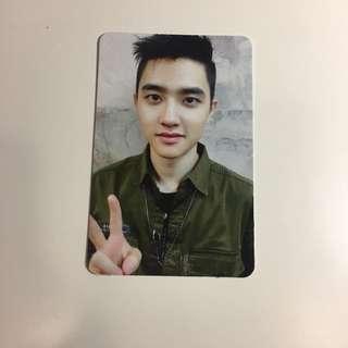 d.o. kyungsoo lotto photocard pc (korean ver)