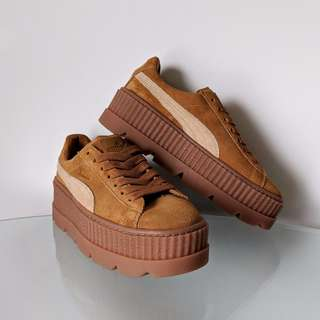 NEW RIHANNA FENTY X PUMA Suede Cleated Creeper Sneakers