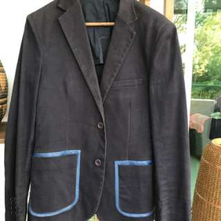 Super cheek navy jacket. Worn once.