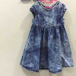[Reduced] Mothercare Denim Dress
