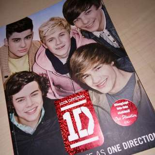 Official One Direction Dare To Dream Book