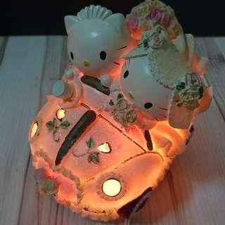 Hellokitty結婚禮車小夜燈