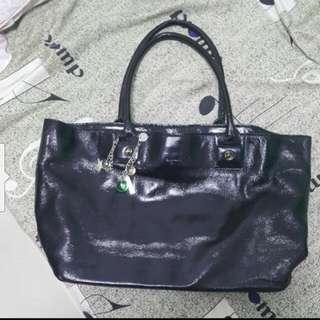 Agnis b Black Color Handbag