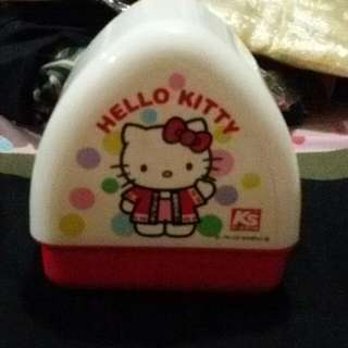 Auth Sanrio Hello Kitty Sushi Lunch Box