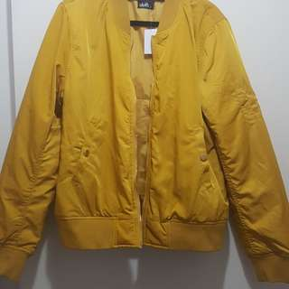 Mustard Bomber Jacket