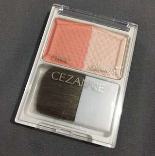 CEZANNE blush and highlighter shade 01