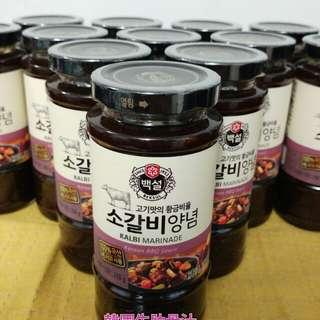 韓式牛肋骨汁