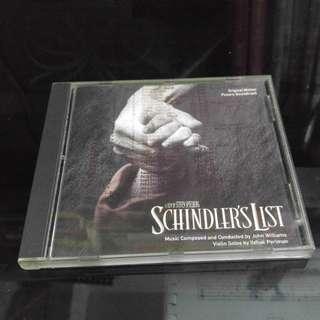 Schindler's List 原音大碟