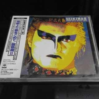 聖飢魔II 日本版大碟 原版