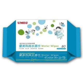 🚚 UMEC優美科純水濕巾超厚型一箱