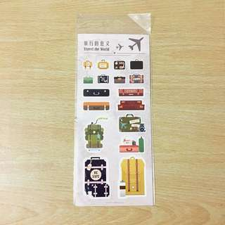 (FREE NM🎉) Travel stickers