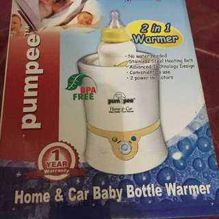 Home & car baby bottle warmer