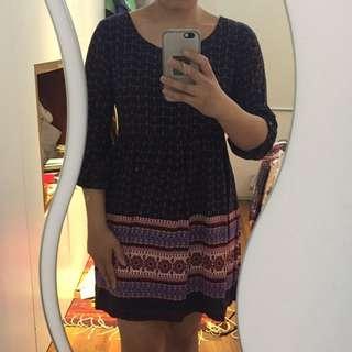 Forever 21 pattern dress