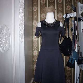 Colorbox black dress sz s