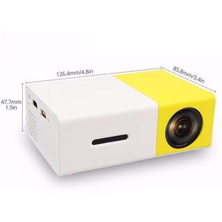 Mini Led Pocket Size Projector Yg300