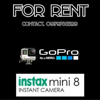 For Rent Go Pro