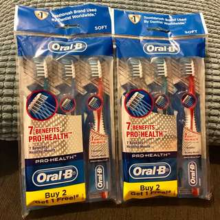 Oral-B Pro-Health Toothbrush (Soft) - NEW