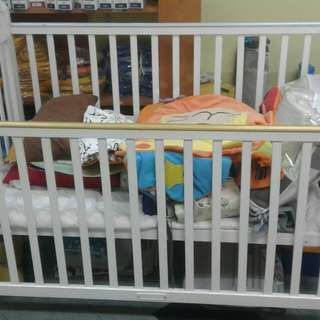 Baby cot used