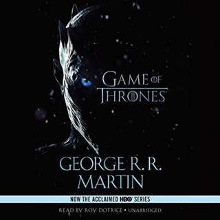 (Audiobook) A Game of Thrones by George R. R. Martin