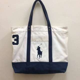 Big Pony Polo Tote Bag