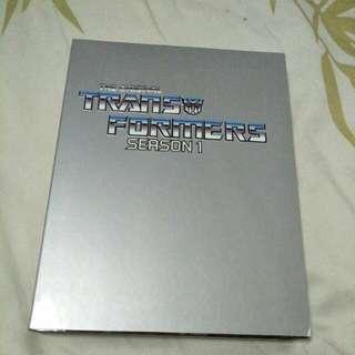 Transformers season 1 dvds