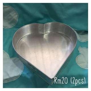 Heart shape tray (big) 2pcs