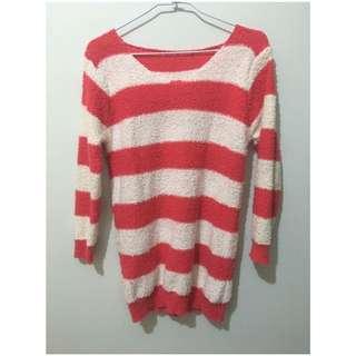 🚚 長版針織毛衣