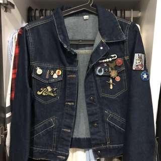 designed denim jacket