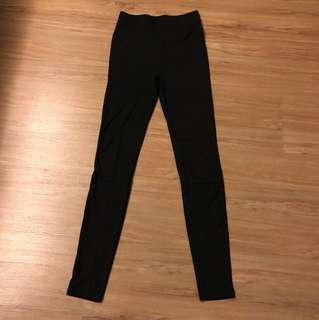 H&M High Waisted Ribbed Leggings (BRAND NEW)