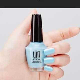 🚚 UNT淺藍指甲油