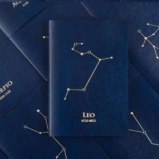 2018 Horoscope Constellation Dated Notebooks