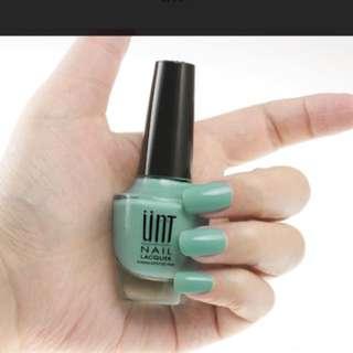 🚚 UNT淺綠色指甲油