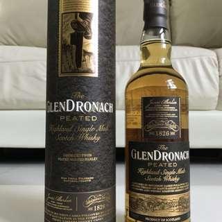 Glendronach Peat Scotch Whisky 蘇格蘭格蘭多納泥煤威士忌