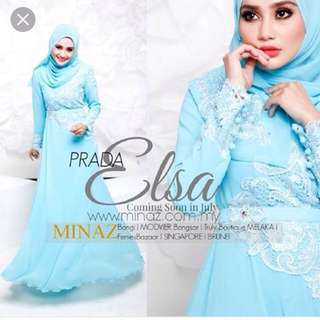 Minaz prada elsa dress with belt (incl postage)