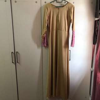 minaz qalisha jubah dress