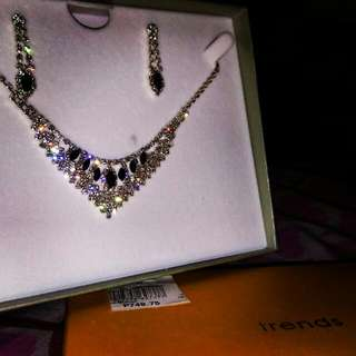 Repriced: Necklace And Earrings Set