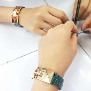 GELANG KULIT IMPORT FASHION WANITA