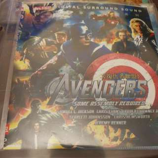 DVD Movies - The Avengers (some assembly required) / 3 for $12