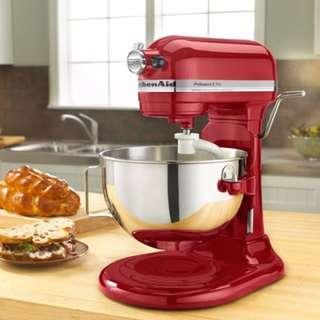 <全新> 美國KitchenAid P{rofession 5 Plus MIXER KV25G0XER 直立式攪拌機