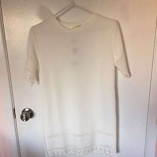 #BlackFriday50 White dress